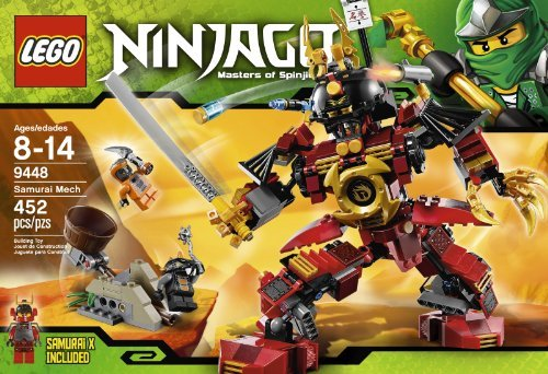 [해외] LEGO NINJAGO TM 9448 SAMURAI MECH PARALLEL IMPORT GOODS-