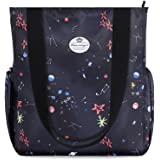 Hua angel Shoulder Tote Bag-Floral Large Capacity Travel Bag Water Resistant Casual Daily Handbag for Beach Gym Shopping Work