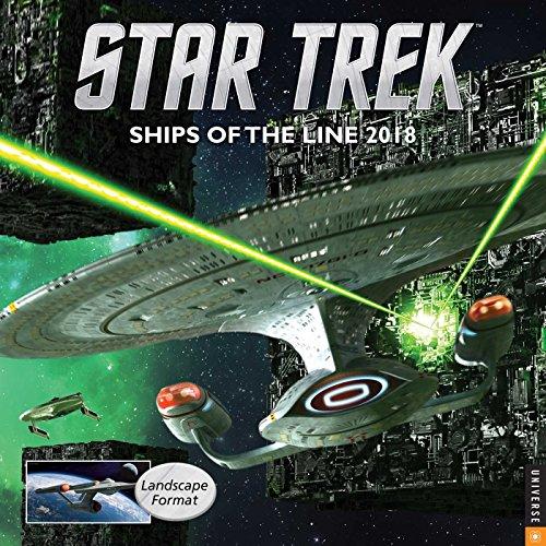 『Star Trek 2018 Wall Calendar: Ships of the Line』のトップ画像