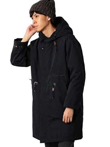 Polyester Nylon Military Parka 3225-199-2546: Navy
