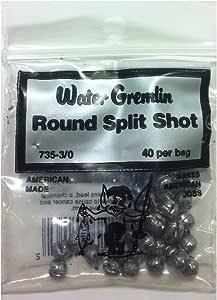 Water Glemlin ウォーターグレムリン ラウンドスプリットシンカー ガン玉 Water Gremlin