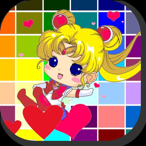 Amazoncojp 美少女セーラー戦士アニメぬりえ子供幼児漫画コミック