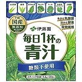 伊藤園 毎日1杯の青汁 糖類不使用 20包入×10箱