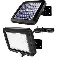 56 LEDソーラーライトwithモーションディテクター超高輝度【高品質100COB】屋外照明 防犯ライト IP65防水…