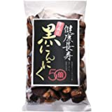 健康長寿の黒にんにく 青森県産 黒にんにく 500g 2~3ヵ月分 ホワイト六片 添加物不使用 チャック付き袋