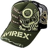 AVIREX アヴィレックス 2020年 刺繍 パッチ メッシュキャップ 帽子 メンズ レディース ミリタリー キャップ…