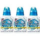 トップ スーパーナノックス 洗濯洗剤 液体 本体 450g(3本セット)