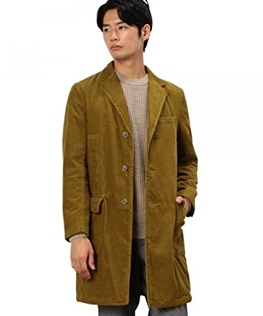 Green Label Relaxing Corduroy Padded Chesterfield Coat 3225-139-2024