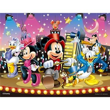 ディズニー  iPhone/Androidスマホ壁紙(freeサイズ)-1 - ミュージカル風のミッキー達。