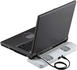 【2006年モデル】ELECOM ノートパソコン用冷却台 冷え冷えクーラー SX-CL03MSV
