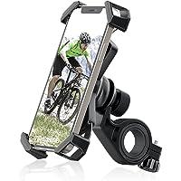 Tiakia 自転車 スマホホルダー オートバイ バイク スマホほるだー スマートフォン 振れ止め 脱落防止 GPSナビ…