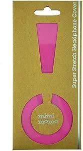 ボロボロのイヤーパッドが復活 修理・保護・汗ムレの解消に mimimamo スーパーストレッチヘッドホンカバー M (ピンク) ※各機種への対応はメーカーHPのヘッドホン対応表をご確認ください