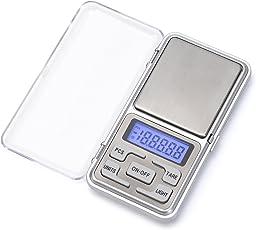 IDAODAN 改良版 携帯タイプはかり ポケットデジタルスケール(秤) 0.01g-500g精密 業務用(プロ用) デジタルスケール 電子天秤 (日本語取扱説明書付き)