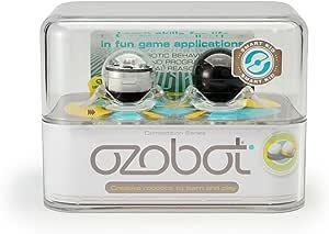 【アメリカで大人気】世界最小スマートロボット 最先端の学習ツール 知性派 子供向け デジタル世代 サイエンス系おもちゃ 知育玩具 ダンス アイパッドiPad オゾボット Ozobot