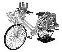 リトルアーモリー 1/12 LM006 通学自転車 指定防衛校用 シルバー:弾薬箱運搬型