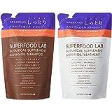 SUPERFOOD LAB BIOTIN + OIL SHAMPOO & TREATMENT リフィルセット(各400ml) オイル