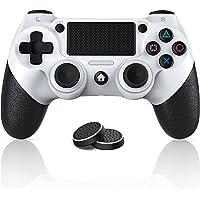 PS4コントローラー CELIMO プレステ4コントローラー Bluetooth無線接続 fpsフリーク付き 600mA…
