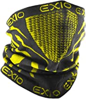 EXIO(エクシオ) ネックウォーマー フリーサイズ 冬 防寒 防風 バイク 登山 スポーツ 速乾