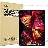 """ProCase iPad Pro 11"""" フィルムガラス 2021 第三世代、液晶保護フィルム 耐指紋、強化ガラス スクリーンプロテクター 適用機種:iPad Pro 11インチ 3世代 2021 /2世代 2020 /1世代 2018 -クリア"""
