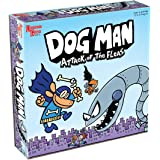 University Games 7010 Dog Man Board Game Attack of The Fleas (Fuzzy Little Evil Animal Squad) Based On The Popular Dog Man Bo
