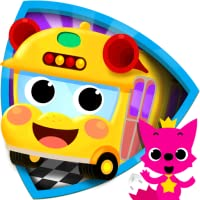 PINKFONG!カータウン: 幼児向け乗り物教育、知育アプリ
