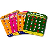 Regal Games Original Assorted Auto and Interstate Travel Bingo Set, Bingo Cards Great for Family Vacations, Car Rides, and Ro