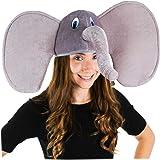 Funny Party Hats Elephant Hat - Elephant Trunk Hat - Elephant Costume - Animal Costume Hats