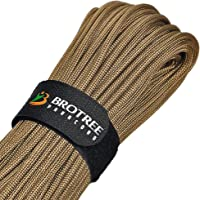 Brotree 帕洛驰 4mm 9芯 带魔术贴 承重280kg 帐篷 绳 伞绳 户外 露营 生存固定用 (30/50m)