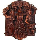 Celtic Goddess Brigid Brigit Wall Plaque Wood Finish