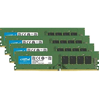 Crucial(Micron製) デスクトップPC用メモリ PC4-17000(DDR4-2133) 8GB×4枚 CL15 DRx8 288pin (永久保証)CT4K8G4DFD8213
