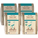 Great River Organic Milling, Bread Flour Blend, Sunflower Millet Blend, Stone Ground, Organic, 5-Pounds (Pack of 4)