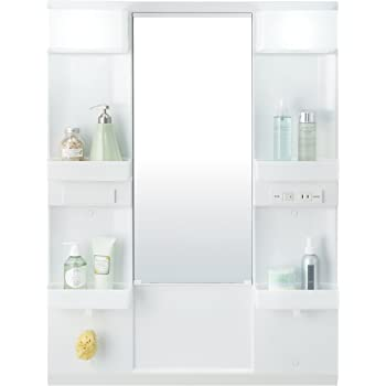 LIXIL(リクシル) INAX 洗面化粧台用 化粧鏡 D7シリーズ 幅75cm 一面鏡 LED MD7X2-751YFJ