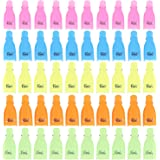 50 PCS Nail Art Acrylic Nail Polish Remover Clip Cap, Soak Off UV Gel Polish Remover Wrap Cleaner Cap Clip Tool