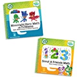 LeapFrog 80-469300 LeapStart 2 Book Combo Pack: Scout & Friends Math and Moonlight Hero Math With PJ Masks