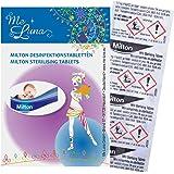 月経カップを清潔に保つ除菌用ミルトン 10個入り