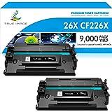 True Image Compatible Toner Cartridge Replacement for HP 26X CF226X 26A CF226A Laserjet Pro M402n M402dn M402 M426 M426fdn La