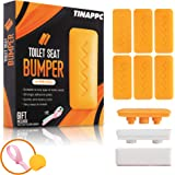 Toilet Seat Bumpers – 6pcs Toilet Bumpers with Height Adjusters and Toilet Lifter Handle – Self-Adhesive Strip – Top-Quality