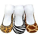 JazzyToes Baby Girls' Socks Safari Fashion
