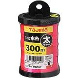 タジマ(Tajima) パーフェクト リール水糸 蛍光ピンク 太0.8mm 長さ300m PRM-M300P
