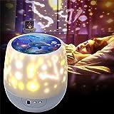 Lights Projector for Bedroom -Shayson Night Lights Projector for Kids Rotation Star Projector Light for Boys Girls Kids Bedro
