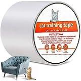 Anti-Scratch Cat Training Tape, YanYoung Cat Scratch Training Deterrent Tape, 3 Inches x 30 Yards Cat Furniture Protector, Cl