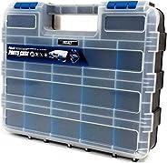 コーナンオリジナル 両面 パーツケース ブルー WPAME-706 サイズ:約幅320×奥行270×高さ80mm
