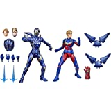 Marvel Hasbro Legends Series 6-inch Scale Action Figure Toy Captain and Rescue Armor 2-Pack, Infinity Saga Character, Premium