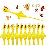 Namii W Rubber Chicken Slingshot Chicken Flickin Chicken Game Flying Toys Sticky Rubber Chickens Slingshot Chicken Dog Toy Th
