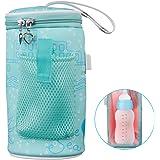 Milk Bottle Heated Bag, USB Portable Baby Infant Warmer Travel Mug Heater Feeding Nursing Insulated Storage Bag Thermostat fo