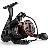 KastKing Brutus Spinning Reel, Freshwater Spinning Fishing Reels, Graphite Frame, CNC Aluminum Spool, 5.0:1 Gear Ratio, 4+1 B
