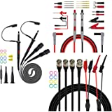 Premium Test Leads Set, Digital Multimeter Leads Kit with Oscilloscope Probes BNC Cable Leads Set for multimeter, Oscilloscop
