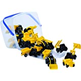 Viking Toys VP43135 Mini Chubbies Bucket Construction 20pcs