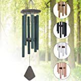 Memorial Wind Chimes Outdoor Large Deep Tone, 30'' Sympathy Wind Chime Amazing Grace Outdoor, Metal Wind-Chime Personalized W