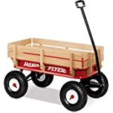 Radio Flyer 32 All-Terrain Steel and Wood Wagon 1 Red